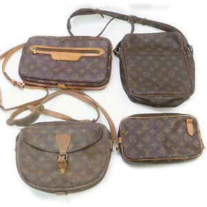 Louis Vuitton Monogram Shoulder Bag 4 pieces JUNK set 521039