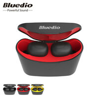 Bluedio T-elf Air pod Bluetooth 5.0 Sports Wireless Earphones with charging box