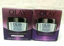 (2) Olay Age Defying Advanced Hydrating Gel Anti-aging Moisturizer 1.7 Oz