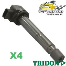 TRIDON IGNITION COIL x4 FOR Honda  Accord CL (Euro) 01/02-09/07, 4, 2.4L K24A