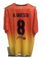 Nike 2012 2013 Iniesta  XL FC Barcelona Away Shirt Jersey Camiseta Kit NWT