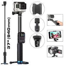 Selfie Stick Extendable Pole Telescopic Monopod Handheld For GoPro Hero 5 4 3+ 2