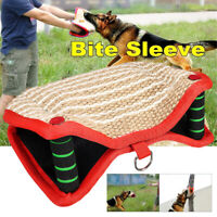 Jute Dog Bite Arm Sleeve For Training Dogs Guard Schutzhund Chewing Protection