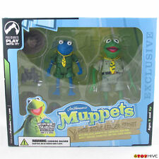 Muppets Palisades Wizard World Exclusive Frog Scout Leader Kermit - Blue version