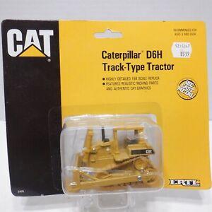 ERTL Diecast Caterpillar D6H Track-Type Tractor 1/64 Scale
