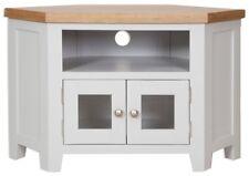 Melbourne French Grey Corner Glazed TV Cabinet