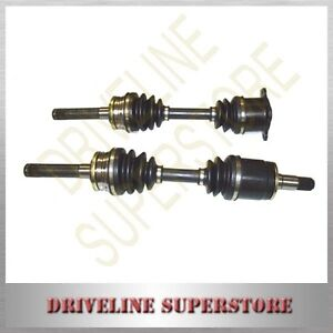 A SET OF TWO  CV JOINT DRIVE SHAFTS NISSAN XTRAIL T30 YEAR 2001-2006 Manual