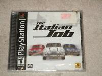 Playstation THE ITALIAN JOB PS1 Sony PlayStation 1 NEW  FACTORY SEALED