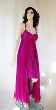 DINER EN VILLE Abendkleid Plissee 40 NEU Kleid Maxikleid Überkleid WOW JW-500