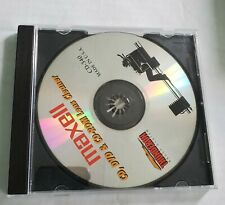 Maxell DVD CD ROM Lens Cleaner With Advanced angle Brush Cd-340 Case Has Wears