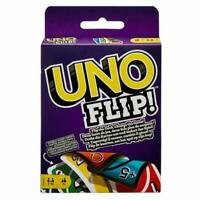 UNO FLIP CARD GAME Children Adult Friend Great Family Fun Travel Party UK Seller