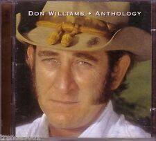 DON WILLIAMS Anthology 2CD Country 70s 80s AMANDA I BELIEVE IN YOU TRUE LOVE
