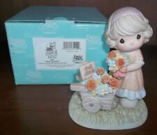 Precious Moments June Rose : Beautiful 101521 Enesco 2001 in box Porcelain