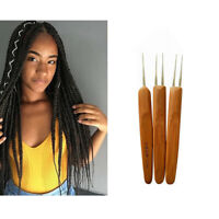 Dreadlock Crochet Needle Soft Touch Steel Dreadlocks Crochet Hook for Hair Tool