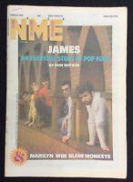 NME 16 March 1985 James Marilyn Win Blow Monkeys