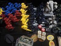Starquest - Space Crusade Parti di Ricambio Accessori Carte Miniature Plancia MB