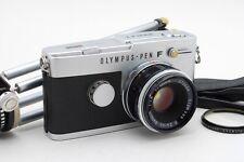 [Exc+++++] OLYMPUS PEN-FT + 38mm f/1.8 Lens w/Original Tripod Case From Japan