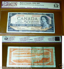 1954  Bank OF Canada $50  -Certified