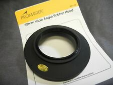 58mm Soft Rubber Wide Angle lens Hood For Canon 18-55, (LAST ONE)