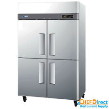"Turbo Air M3R47-4 52"" Four Half Door Reach-In Refrigerator"