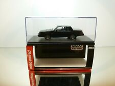 AUTO WORLD AWR1136 BUICK GRAND NATIONAL 1985 - BLACK 1:43 - EXCELLENT IN BOX