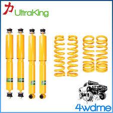 "Toyota Landcruiser 100 Series Front & Rear Shock + KING Coil Springs 2"" Lift Kit"