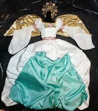 EVENING C ~ DRESS (A) ~ BARBIE DOLL GOLD WINGED ANGEL OF JOY WHIMSICAL GOWN