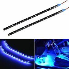 BLUE LED Strips Lights Car 30cm DIY Waterproof Flexible Car Interior Exterior