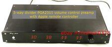 Linkwitz-Riley Crossover 3-Way electrical frequency divider PGA2311 Preamplifier