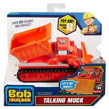 Fisher-Price Bob the Builder Talking Muck Vehicle 100% Brand New