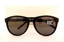 Brand New MONT BLANC Sunglasses MB 506 506S 01A Black/Gray