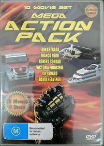 Mega Action Pack 10 Movie DVD Set BRAND NEW