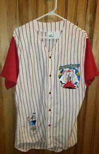Rare Vintage Disney Roger Rabbit Baseball Jersey