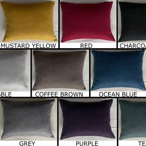 Herringbone Tweed Rectangle Cushion Cover Handmade Pillow Case Sofa Bed Decor