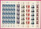 "FRANCE YVERT 989 / 994 "" SERIE SAINT LOUIS A VALERY EN FEUILLE 1954"" NEUF xx TTB"