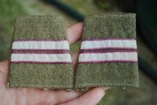WW2 Polish slip on patches Kapral