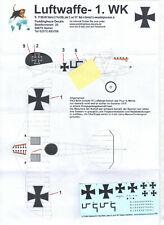 Albatros D.V, Jasta 12, Paul Billik, Peddinghaus Decals 72 3657, 1/72 WW I