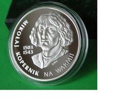 Poland  Copernicus Kopernik  Ag 2010 Limited Edition only 1000pcs