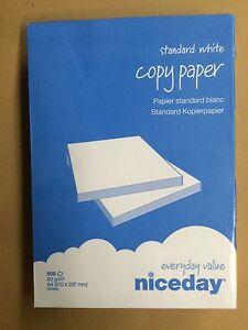 """Druckerpapier 2500 Blatt """"Niceday"""", DIN A4, 80g, Fax, Kopierer, inkl. Versand"""