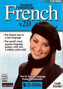 Instant Immersion Learn to Speak and Talk French 2.0 (5 CD Set) REDUCED price