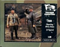 Verlinden Productions 1:35 Reporting Africa Korps - Two Resin Figures Kit #1410