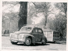 Auto c. 1950 - RENAULT 4 CV Remorque-Caravane - Div 12208
