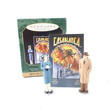 Vtg Hallmark Keepsake Casablanca Christmas Ornament Set Of 3 1997 with Box