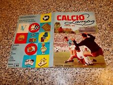 ALBUM CALCIO LAMPO 1965 1966 COMPLETO(-10 SCUDETTI) OTTIMO TIPO PANINI MIRA RELI
