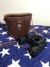 Vintage Nikon Binoculars 7x50 Nippon Kogaku Feather Weight 7.3 J-b7 NICE w/case