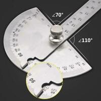 1 Stück Edelstahl 180 Grad Winkelmesser Finder Arm Werkzeug Messlineal W4M