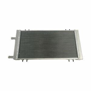 Universal Aluminum Radiator Air to Water Performance Heat Exchanger Silver
