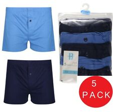 5 x Pairs Boys Hipster Trunks Boxers Shorts Pants 100% Cotton Age 5 - 16 Years