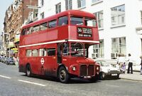 PHOTO London Transport AEC Routemaster Class RM RM865 WLT865 at London Victoria