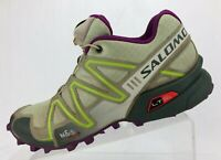 Salomon Speedcross 3 Trail Running Shoes Multicolored Training Womens US 6.5